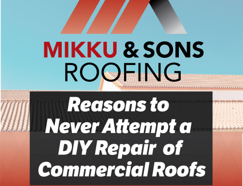 Reasons to Never Attempt a DIY Repair of Commercial Roofs