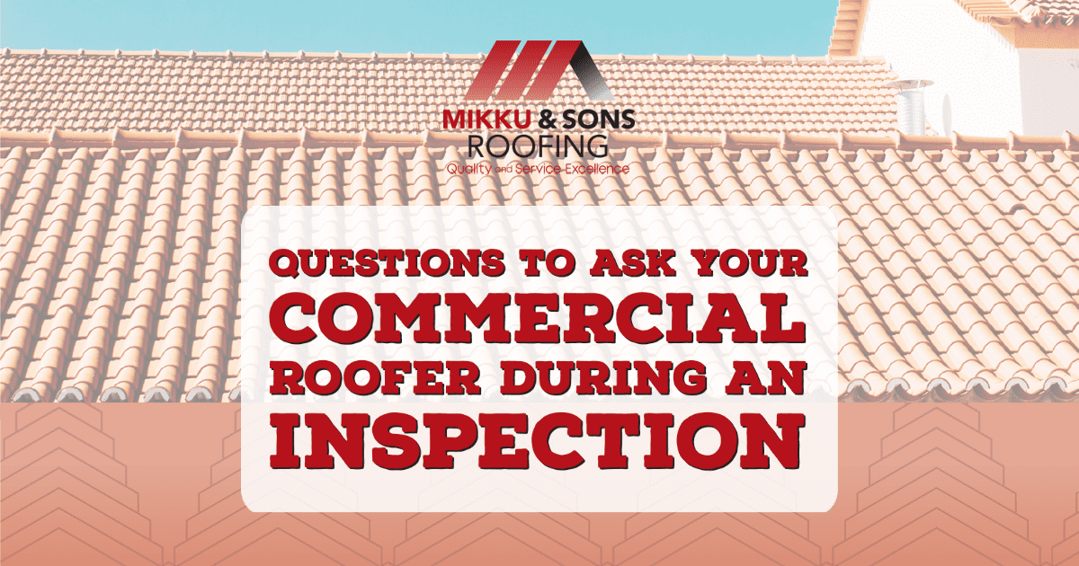 Blog Image: Questions to Ask Your Commercial Roofer During An Inspection